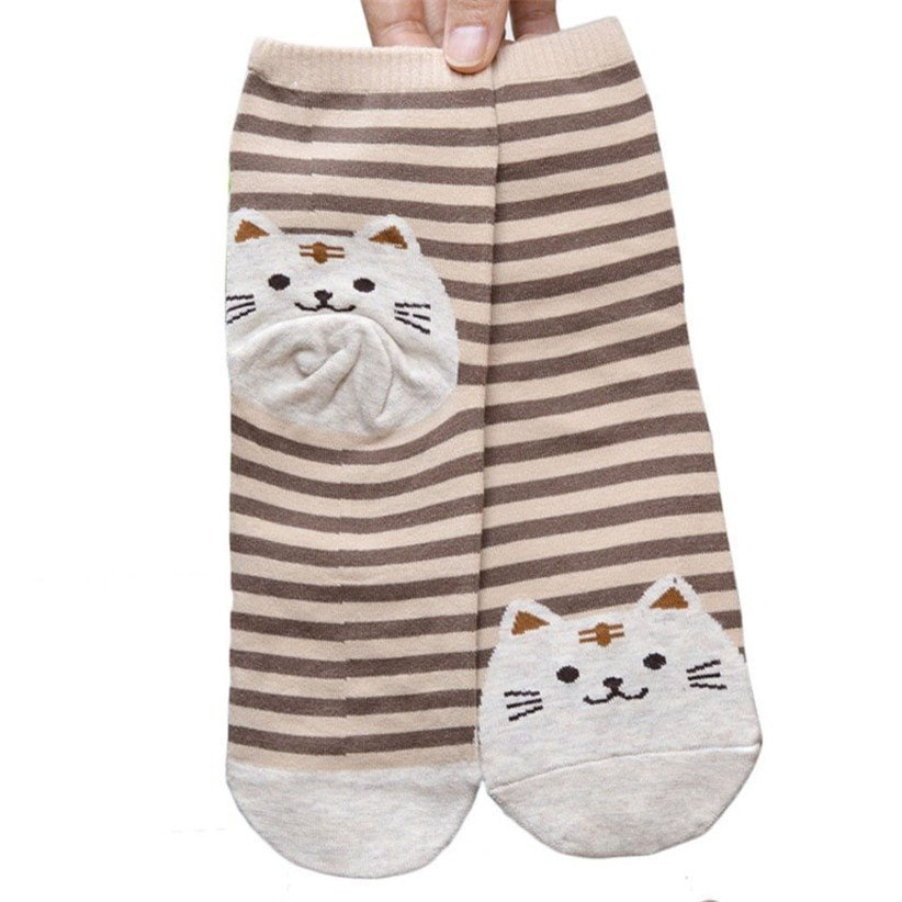 Chaussette chat3