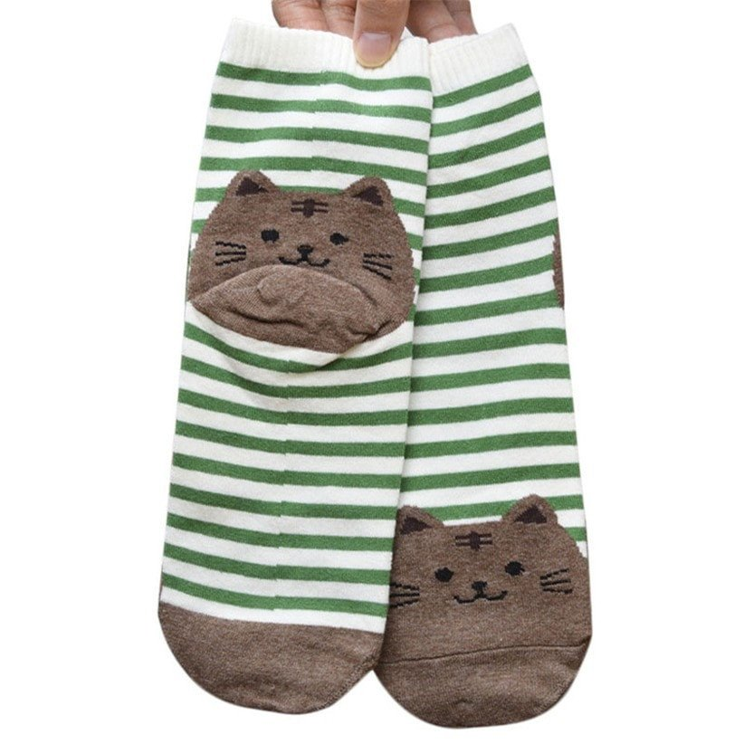 Chaussette chat4