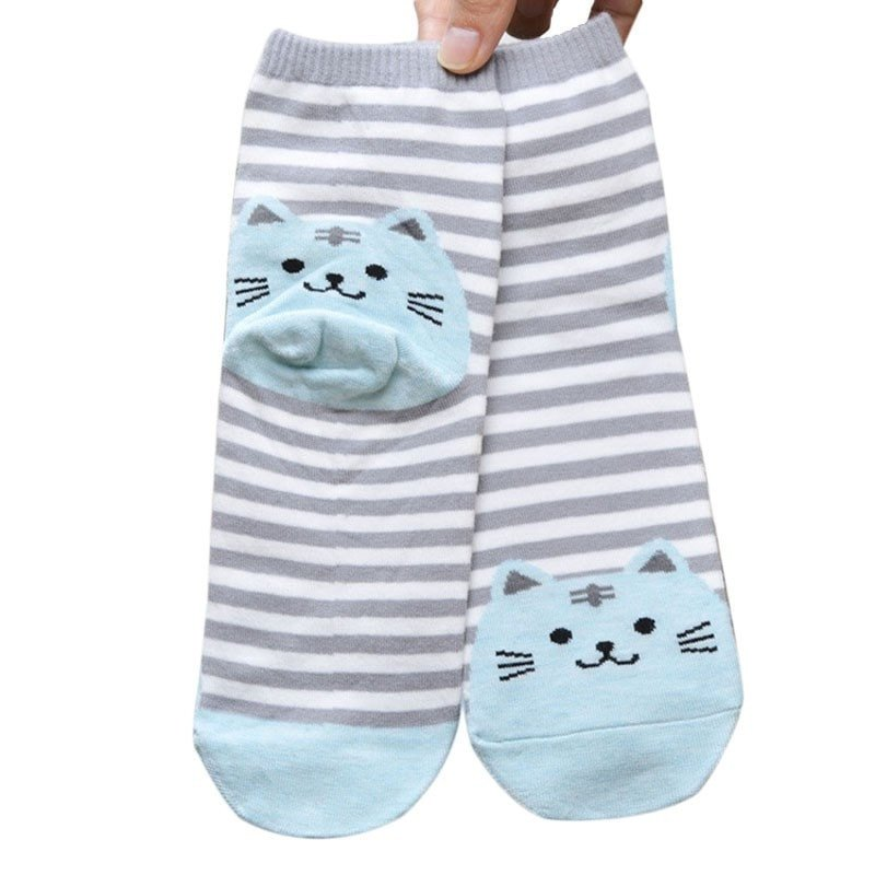 Chaussette chat6