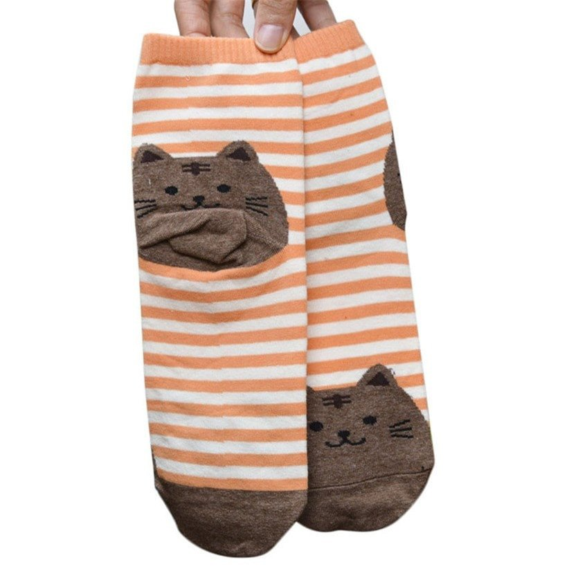 Chaussette chat7